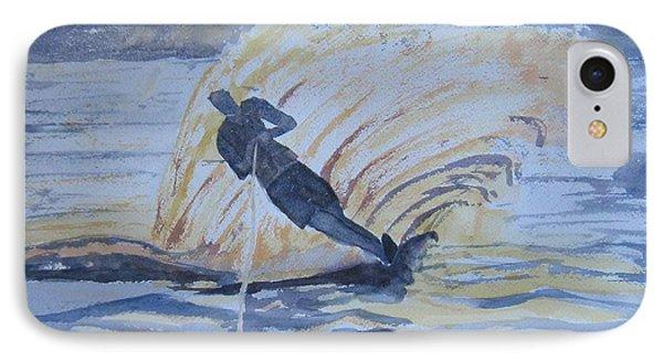 Evening Ski Run Phone Case by Dodie Davis