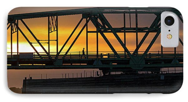 Evening Stroll IPhone Case by Betsy Knapp