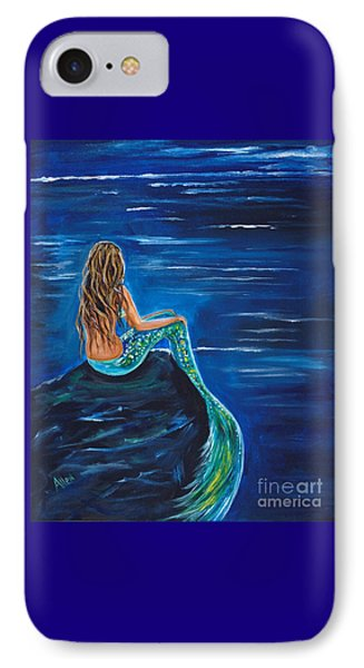 Evening Tide Mermaid IPhone Case