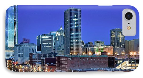 Evening Time In Okc IPhone Case