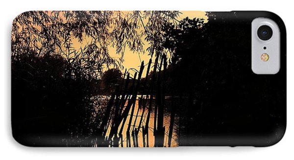 Evening Time IPhone Case by Keith Elliott