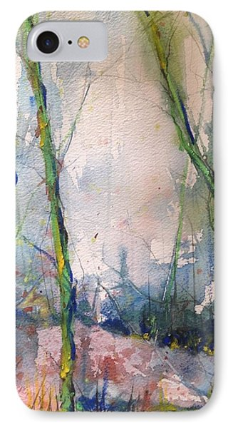 Evening Trees IPhone Case by Robin Miller-Bookhout