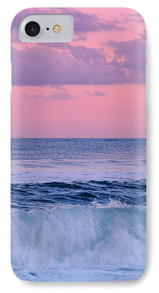 Evening Waves 2 - Jersey Shore IPhone Case by Angie Tirado