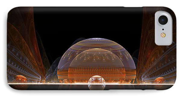 IPhone Case featuring the digital art Event Horizon by Richard Ortolano
