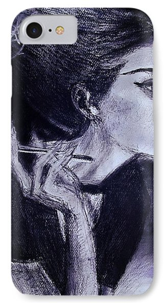 IPhone Case featuring the drawing Ever Dream by Jarko Aka Lui Grande