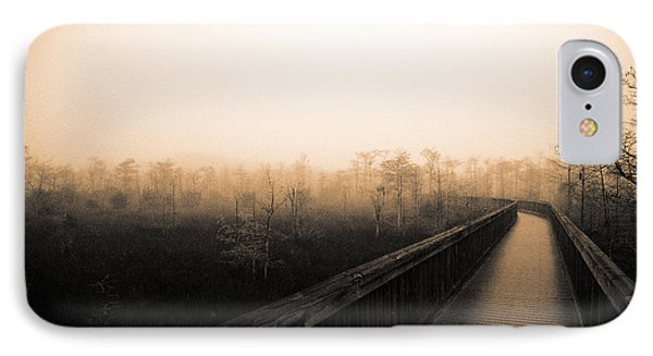IPhone Case featuring the photograph Everglades Boardwalk by Gary Dean Mercer Clark
