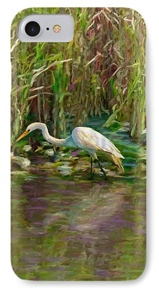 Everglades Hunter IPhone Case by David  Van Hulst