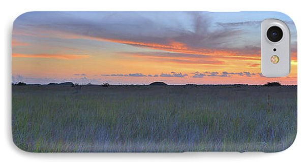 IPhone Case featuring the photograph Everglades Sunset Panorama by Stephen  Vecchiotti