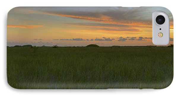 IPhone Case featuring the photograph Everglades Sunset by Stephen  Vecchiotti