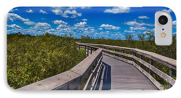 Everglades Trail IPhone Case by Swank Photography