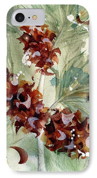 IPhone Case featuring the painting Evergreen Branch by Dawn Derman