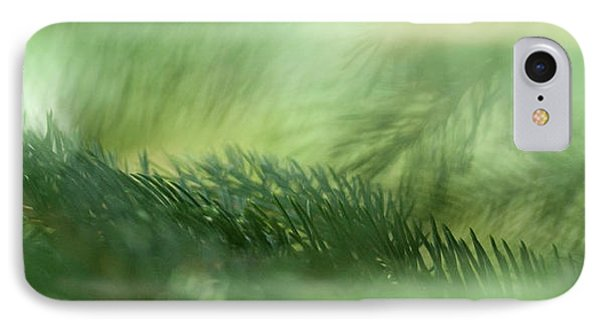IPhone Case featuring the photograph Evergreen Mist by Ann Lauwers