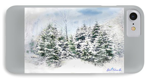 Evergreens IPhone Case by John Selmer Sr