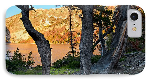 Everson Lake 2 Phone Case by Leland D Howard