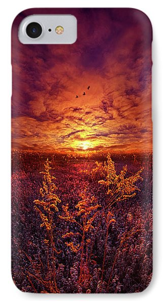 IPhone Case featuring the photograph Every Sound Returns To Silence by Phil Koch