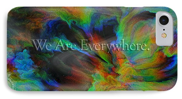 Everywhere IPhone Case by Betsy Knapp