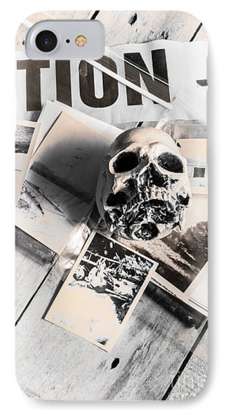 Evidence Of Old Crimes IPhone Case by Jorgo Photography - Wall Art Gallery