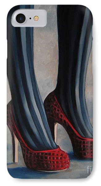 Evil Shoes Phone Case by Jindra Noewi