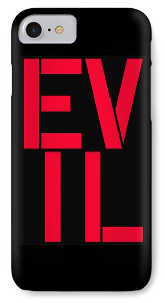 Evil IPhone Case by Three Dots