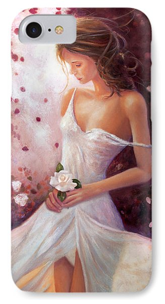 Evocative Scent Of A Summer Rose IPhone Case by Michael Rock