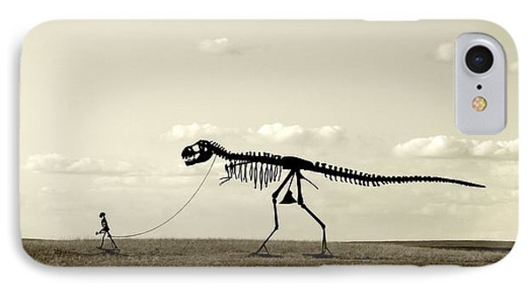 Dinosaur iPhone 7 Case - Evolution by Todd Klassy
