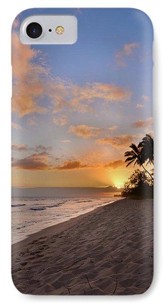Ewa Beach Sunset 2 - Oahu Hawaii IPhone Case by Brian Harig