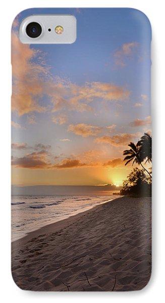 Ewa Beach Sunset 2 - Oahu Hawaii IPhone Case