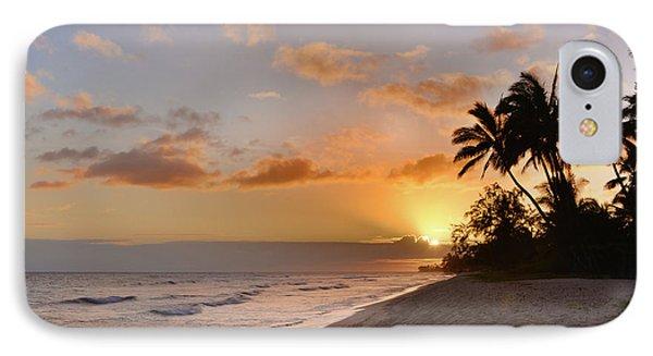 Ewa Beach Sunset - Oahu Hawaii IPhone Case by Brian Harig