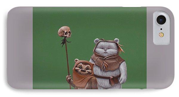 Ewoks IPhone Case by Jasper Oostland