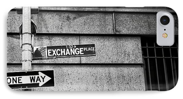 Exchange Place IPhone Case by John Rizzuto