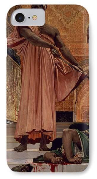 Execution Without Trial Under The Moorish Kings In Granada IPhone Case by Henri Alexandre Georges Regnault