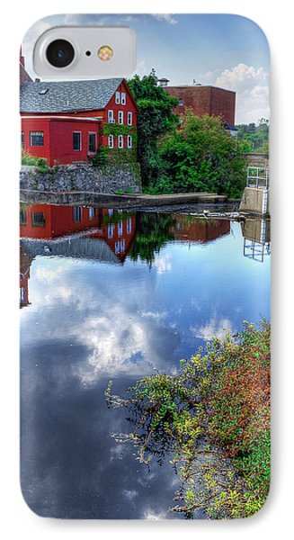 Exeter New Hampshire IPhone Case by Rick Mosher