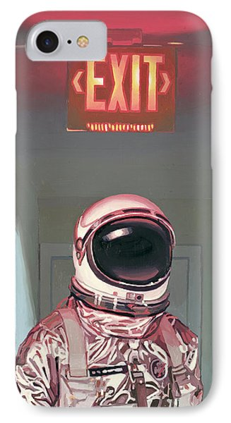 Exit IPhone Case by Scott Listfield