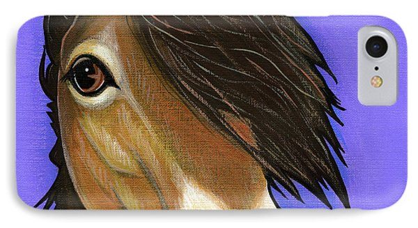 Exmoor Pony  IPhone Case by Leanne Wilkes