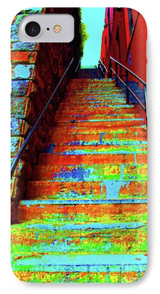 Exorcist Steps IPhone Case by Jost Houk