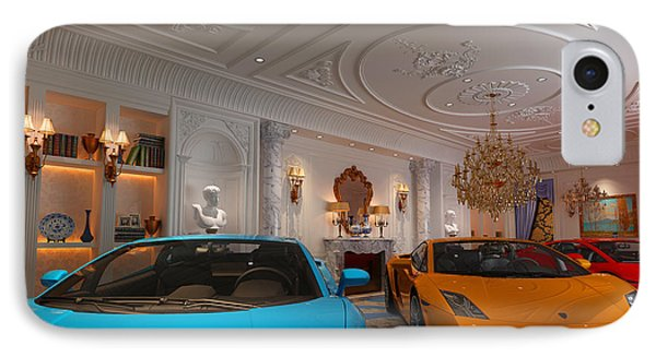 Exotic Italian Lamborghini Car Collection IPhone Case by Edier Cr Collection