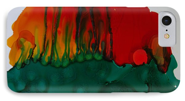 IPhone Case featuring the painting Exotic Nature # 56 by Sima Amid Wewetzer