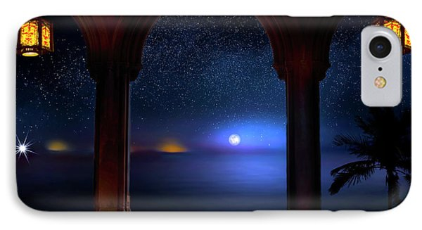 IPhone Case featuring the photograph Exotic Night by Mark Andrew Thomas