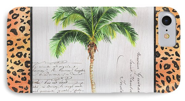 Exotic Palms 1 IPhone Case by Debbie DeWitt