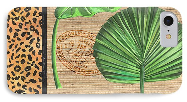 Exotic Palms 2 IPhone Case by Debbie DeWitt