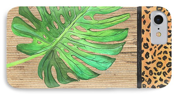Exotic Palms 3 IPhone Case by Debbie DeWitt