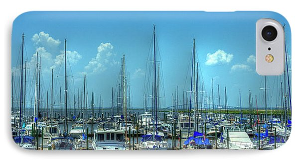Expensive Toys 2 Sailboats St Simons Island Georgia IPhone Case by Reid Callaway