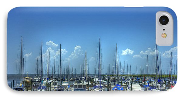 Expensive Toys Sailboats St Simons Island Georgia IPhone Case by Reid Callaway