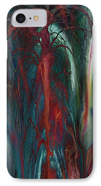 Experimental Tree Phone Case by Linda Sannuti