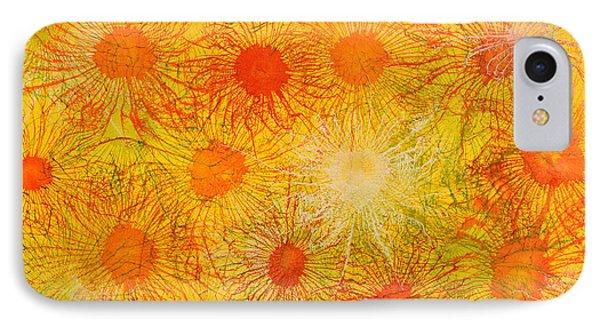 Exploflora Series No 7 IPhone Case by Sumit Mehndiratta