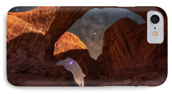 IPhone Case featuring the photograph Explore The Night by Darren White