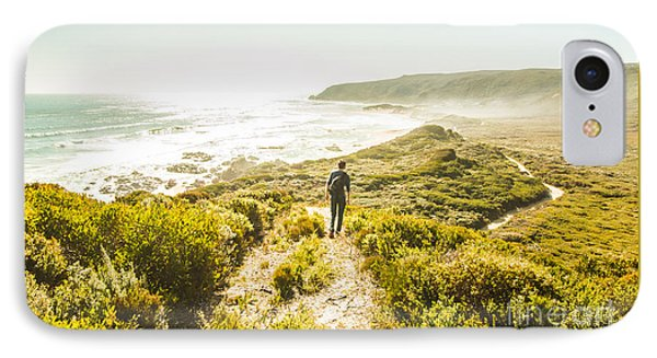 Exploring The West Coast Of Tasmania IPhone Case by Jorgo Photography - Wall Art Gallery