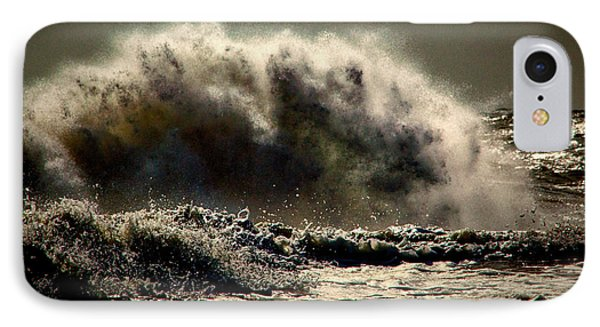 Explosion In The Ocean IPhone Case by Bill Swartwout