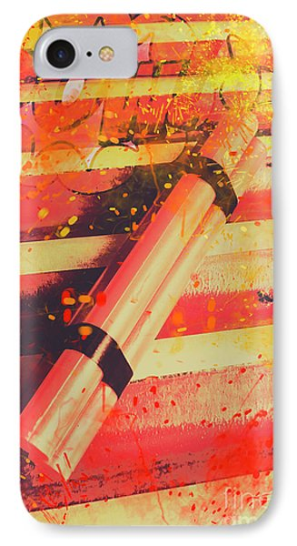 Explosive Comic Art IPhone Case by Jorgo Photography - Wall Art Gallery