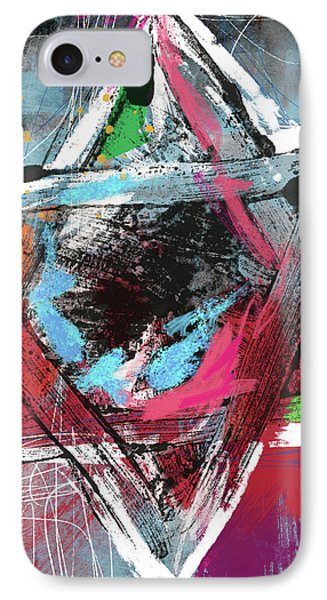 Expressionist Star Of David- Art By Linda Woods IPhone Case